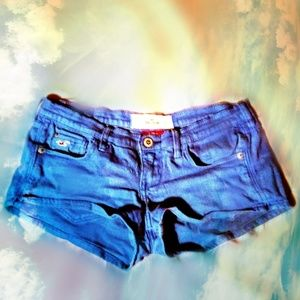 HOLLISTER royal blue Jean Shorts